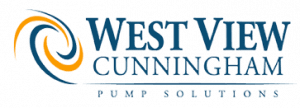 Logo of West View Cunningham, a distributor of industrial pumps and designer of engineered systems.
